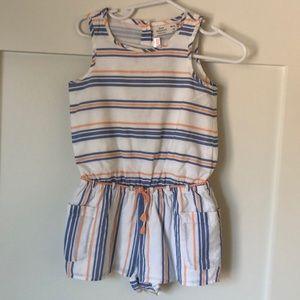 Zara Baby striped romper